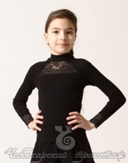 Фото товара Детский джемпер для девочки от производителя Чебоксарский трикотаж
