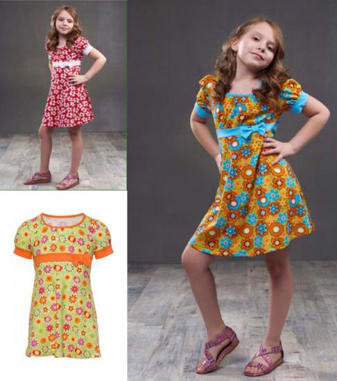 Фото товара Детское платье для девочки от производителя Алена