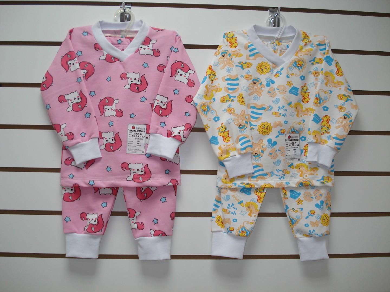 Фото товара Детская пижама для мальчика или девочки от производителя Виктория