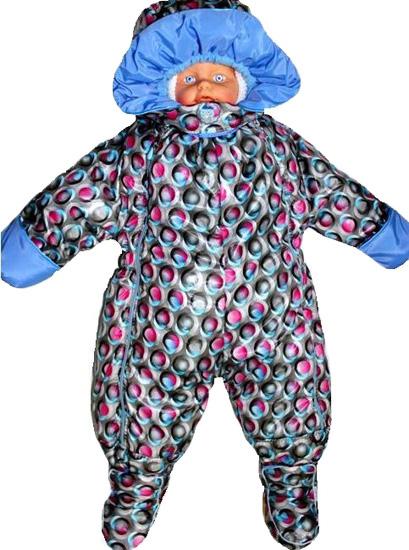 Фото товара Детский комбинезон Капитошка для мальчика или девочки от производителя Даримир