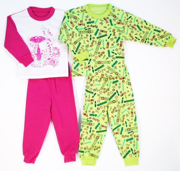 Фото товара Детская пижама для мальчика или девочки от производителя Русь