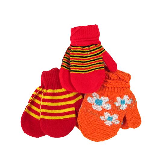 Фото товара Детские варежки для мальчика или девочки от производителя Глория