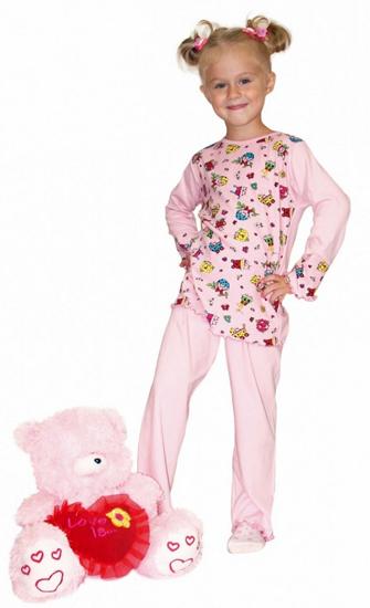 Фото товара Детская пижама для мальчика или девочки от производителя ХОХ