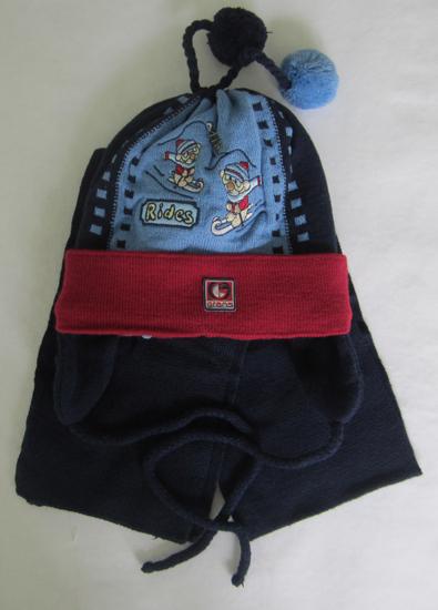 Фото товара Детский комплект для мальчика от производителя Польские шапки