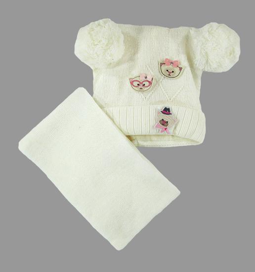 Фото товара Детский комплект детский для мальчика или девочки от производителя Польские шапки