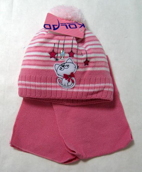 Фото товара Детский комплект детский для девочки от производителя Польские шапки