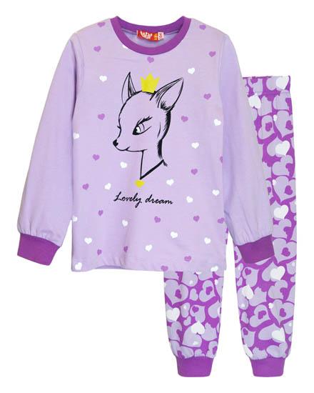 Фото товара Детская пижама для девочки от производителя Lets Go